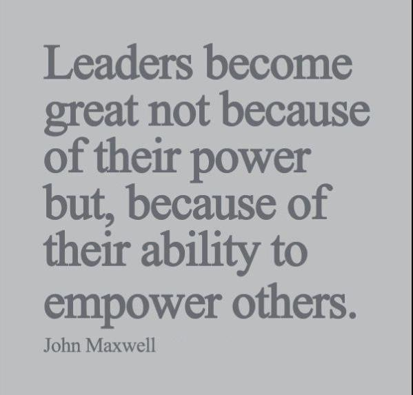 Quote about delegation